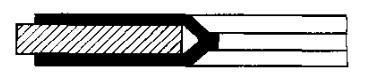 非金属包覆四氟垫片翅型